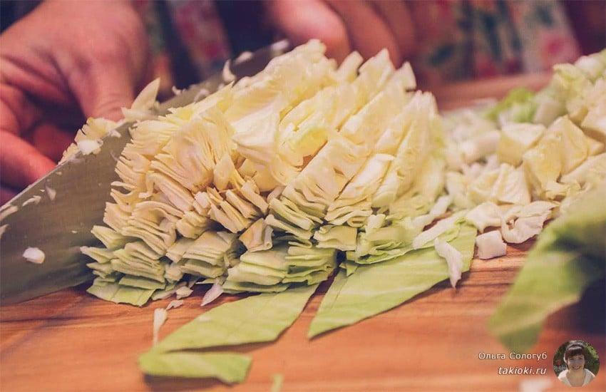 маринованная капуста за 2 часа