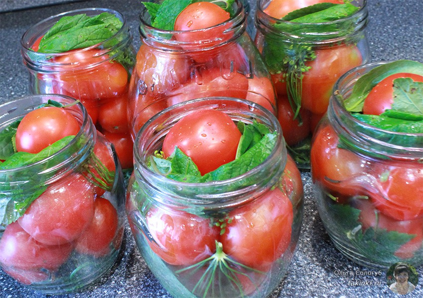 готовим очень вкусные помидоры