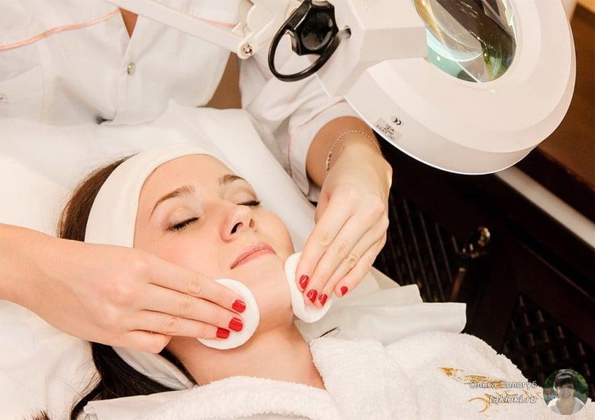 косметические салонные процедуры