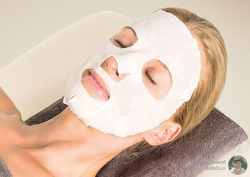 увлажняющая маска для сухой кожи